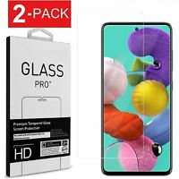 2-Pack Premium Tempered Glass Film Screen Protector for Samsung Galaxy S20 FE 5G