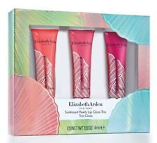 ELIZABETH ARDEN SUNKISSED PEARLS LIP GLOSS TRIO, PINK CORAL BERRY PEARL Gift Set