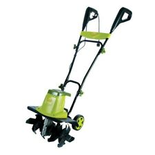 Sun Joe Electric Tiller Cultivator with 5.5 in. Rear Wheels 13.5-Amp 16 in.