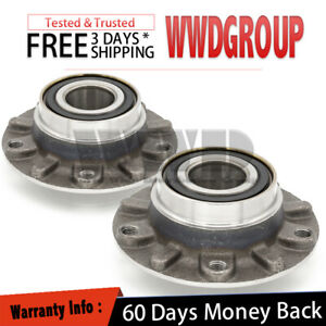 2x Pair 513171 Front L+R Wheel Hub Bearing  For 1995-2001 E38 BMW 7-SERIES 750IL