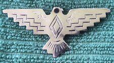 Eagle Pin Native American Silver Tone Bird Brooch Symbol Jewelry Vintage