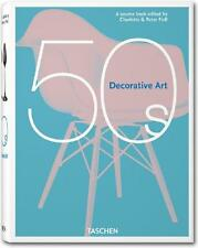 TASCHEN ~ 50'S DECORATIVE ART ~ PROFUSELY ILLUSTRATED ~ DESIGN TRENDS & STYLES