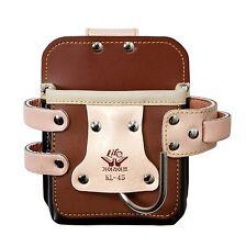 Leather Waist Belt Hook Holder Carrier Pouch Bag for Tool Tacker Brad Nail Gun
