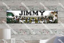 Personalized/Customized Philadephia Eagles #2 Name Poster Wall Decoration Banner