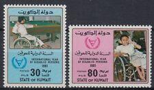 Kuwait 1981 ** Mi.883/84 Behinderte Menschen Disabled People