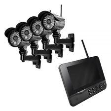 Kameraset HS-410 IP Videoüberwachung HS410 HS 410 Funk Außen LAN 4 Kameras