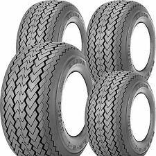 4) 18x8.50-8 Kenda Hole-N-1 Golf Cart Tires 4ply original equipment Course Legal