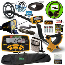 Garrett ACE 300 Metal Detector, Headphones, Bag, Pouch, Digger, Waterproof Coil+