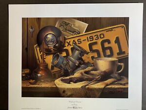 """Weekend Passion"" by Windberg  Limited Edition Print  #464/950  Ford"