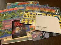 NES Nintendo Lot Dragon Warrior I II 1 2 Inserts Maps Guides ONLY *NO GAMES*