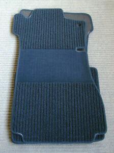 Original Lengenfelder Rips Fußmatten für Mercedes Benz W114 W115 /8 + Blau +NEU