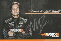 2013 Nelson Piquet, Jr. signed Worx Chevy Camaro NASCAR NNS postcard