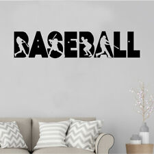 Baseball Multiple Sports Players Home And Garden Wall Window Vinyl Decal Sticker