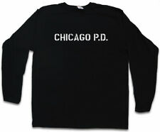 CHICAGO P.D. LANGARM T-SHIRT Police Department Chicago Fire Hank Voight Symbol