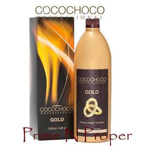 COCOCHOCO GOLD Keratin Hair Straightening Treatment 1000ml
