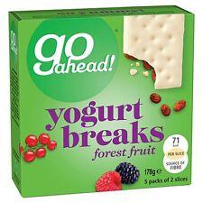 Go Ahead Yogurt Breaks: Forest Fruit (4 X 5 pack) 20 BARS
