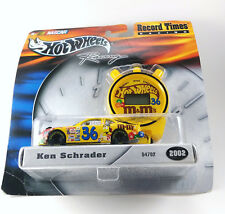 Hot Wheels Record Times 1/64 Ken Schrader 2002 diecast carded New 54702