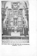 uk42870 retablo del altar mayor de la colegial  gandia valencia  spain