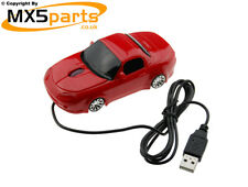 Mk3 Mazda MX5 Wired Red Computer Mouse Ultimate Gift