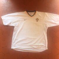 Maillot Foot Portugal Nike Blanc XL