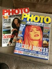 TWO 'PHOTO ANSWERS' MAGAZINES FROM JANUARY AND FEBRUARY 1995