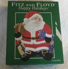 Fitz and Floyd Happy Holidays Cookie Plate Platter Nib