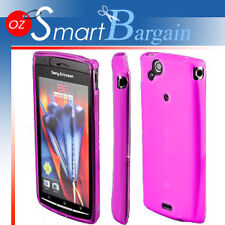 PINK Soft Gel Case For SONY ERICSSON XPERIA ARC X12