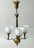 Lampe Deckenleuchte  zugeschrieben Schwintzer & Gräff  Franz Haegele Art Deco