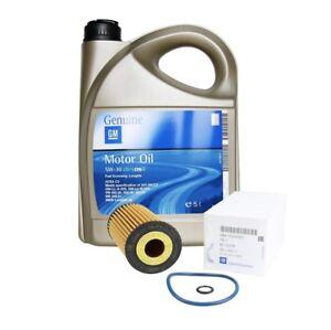 ORIGINAL OPEL Motoröl 5W30 dexos2 LongLife 5 Liter + Ölfilter 95526687   1.6CDTi