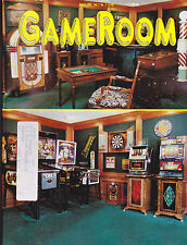 GameRoom Magazine Miniature Slots Pinball Richard Turner August 1995