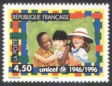 France 1996 UNICEF/Children/Welfare/Education 1v (n40743)