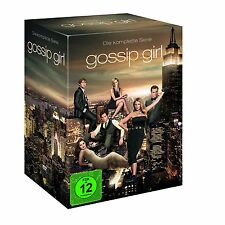 GOSSIP GIRL 1-6 DIE KOMPLETTE DVD STAFFEL / SEASON 1 2 3 4 5 6  DEUTSCH