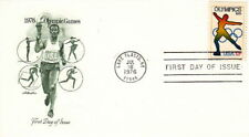 1976 OLYMPIC SKATING - LAKE PLACID NY CACHET FDC COVER
