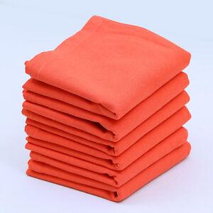 Cotton Napkins Coral 6/pack