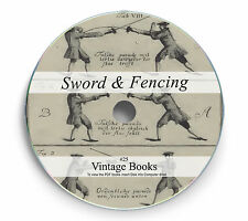 Rare Sword Fencing Books on DVD Samurai Rapier Sabre Broad Guard Broadsword 25