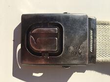 G-STAR Raw, Metallkoppel, Canvas Belt, Gürtel, Vintage, 5 cm breit