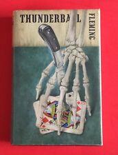 "Erstausgabe! Ian Fleming ""THUNDERBALL"" - JAMES BOND, 1st/1st UK Edition, EA"
