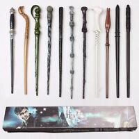 Harry Potter Hermione Dumbledore Sirius Voldemort Fleur Magic Wand In Gift Box