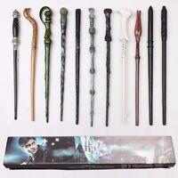 Harry Potter Hermione Dumbledore Sirius Voldemort Fleur Magic Wand In Gift Box _
