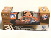 Jeff Burton 2008  #31 AT&T Nascar Action Diecast 1:64 Brand New!
