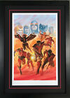 Alex Ross SIGNED X-Men Tribute NYCC Exclusive Print Proof Ltd Ed of 35 FRAMED