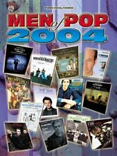 """""""MEN OF POP-2004"""" PIANO/VOCAL/GUITAR CHORDS MUSIC BOOK-BRAND NEW ON SALE RARE!!"""