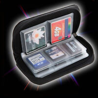 SDHC MMC CF Micro SD Memory Card Storage Carry Pouch Case Holder Wallet-CDS A2D2