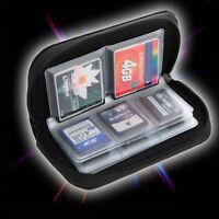 1X SDHC MMC CF Micro SD Memory Card Storage Carry Pouch Case Holder Wallet Uwwj