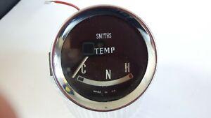SMITHS CLASSIC MINI GAUGE CLOCK DIAL TEMPERATURE TEMP : COOPER S ?