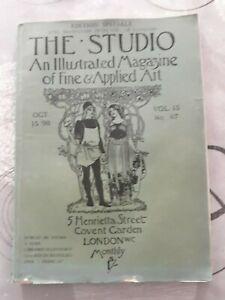 The studio an illustrated magazine of fine et Apple art,vol 15,no67,london
