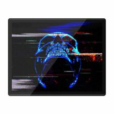 Placemat Mousemat 8x10 - Digital Glitch Art Neon Skill  #21459