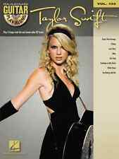 TAYLOR SWIFT GUITAR PLAY-ALONG VOLUME 133 W/TAB MUSIC BOOK-CD BRAND NEW ON SALE!