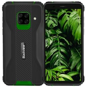 Blackview BV5100 5580mAh 4GO+128GO Téléphone 4G LTE Smartphone 16MP Caméra Vert