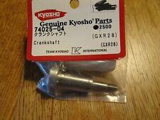 KYOSHO 74025-04 - CRANKSHAFT - GXR28 - NEW